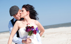 Hatteras Island Fashion Wedding Photographers