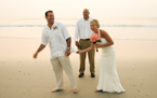 Topsail Island Fashion Wedding Photography
